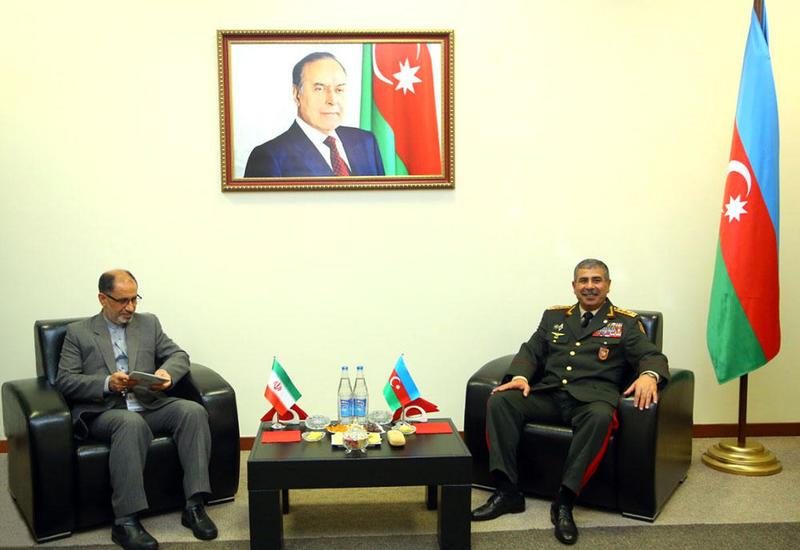 Азербайджан и Иран обсудили военное сотрудничество и вопросы региональной безопасности
