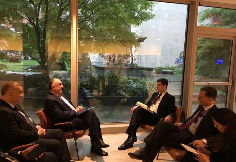 Эльмар Мамедъяров встретился в Нью-Йорке с помощником госсекретаря США