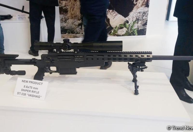 """В Азербайджане испытывают снайперскую винтовку """"Вашаг"""" <span class=""""color_red"""">- ФОТО</span>"""