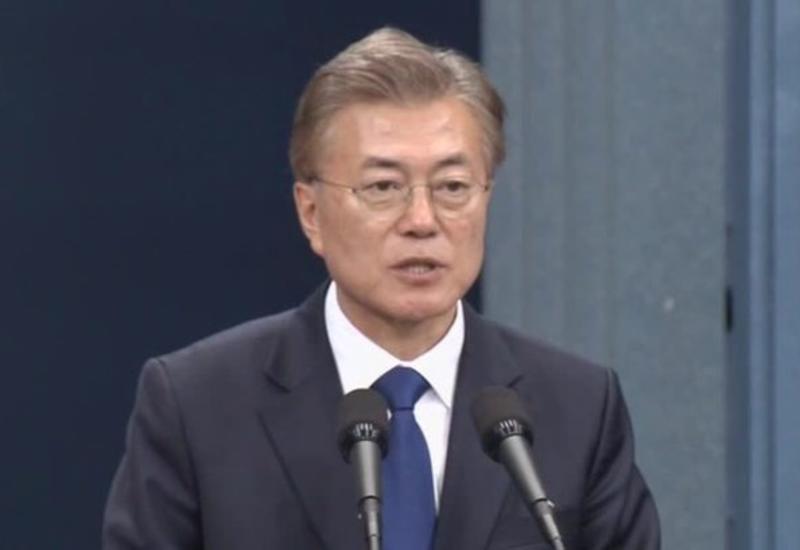 Президент Южной Кореи передал Трампу послание лидера КНДР