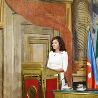 Первый вице-президент Мехрибан Алиева: Надеюсь, что Италия как действующий председатель ОБСЕ сыграет большую роль в урегулировании нагорно-карабахского конфликта