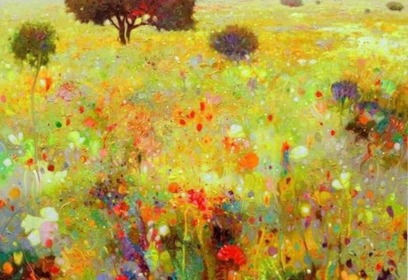 """""""Картинная галерея"""" Day.Az: Цвет и поэзия"""