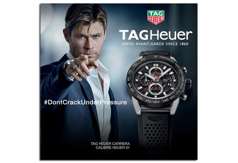 "TAG Heuer – звезда большого экрана <span class=""color_red"">- ФОТО</span>"