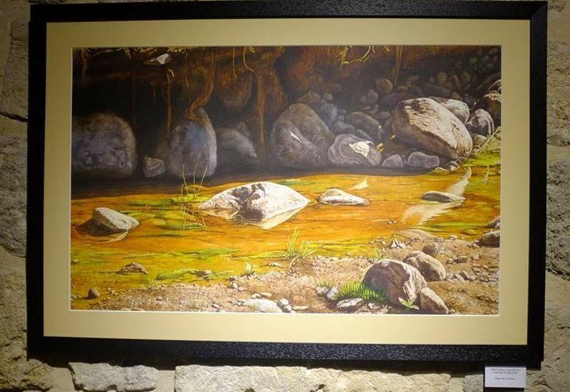 """В Баку открылась персональная выставка художников из Перу <span class=""""color_red"""">- ФОТО</span>"""