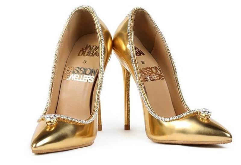В Дубае туристам покажут самые дорогие туфли в мире