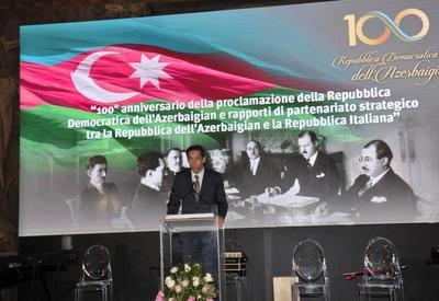 "При организации Фонда Гейдара Алиева в Ватикане торжественно отметили 100-летний юбилей АДР <span class=""color_red"">- ФОТО</span>"