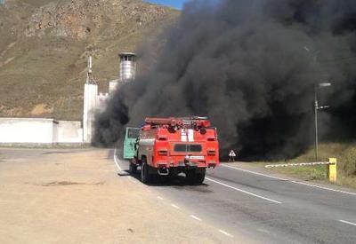 """Сильный пожар в Армении, в стране транспортный коллапс <span class=""""color_red"""">- ВИДЕО</span>"""