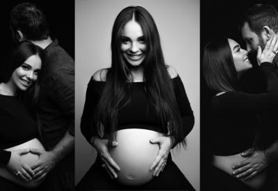 Фото дня - Глубоко беременная певица Рилая в новой фотосессии
