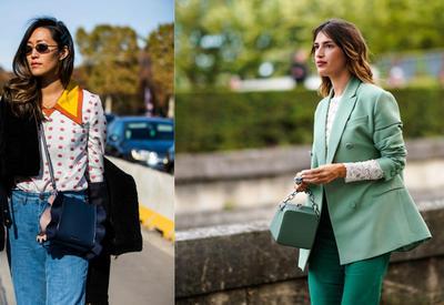 "Стритстайл на Неделе моды в Париже <span class=""color_red"">- ФОТО</span>"