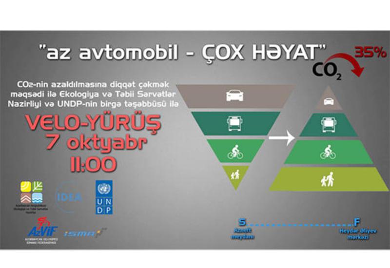 Минэкологии Азербайджана проведет велопробег в Баку
