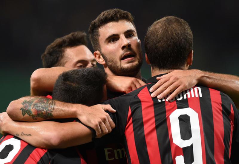 «Милан» одержал волевую победу над «Олимпиакосом»