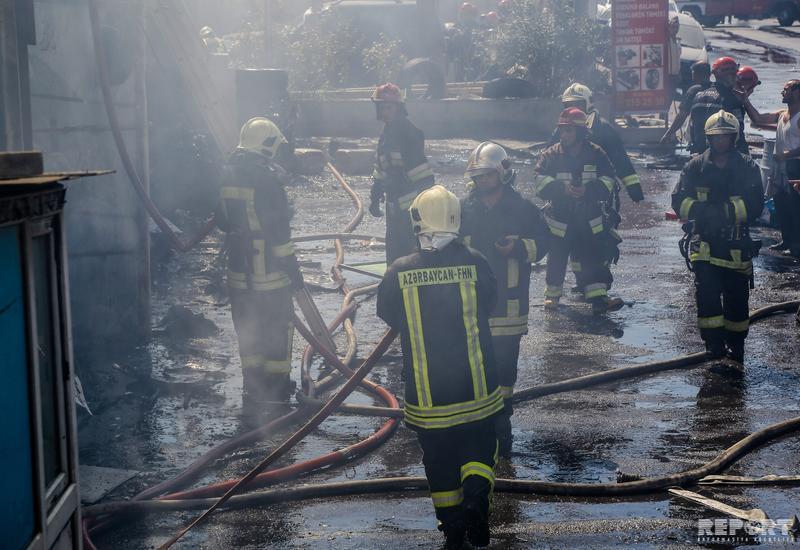 В Габале загорелся арендованный арабами дом, есть погибший и раненые