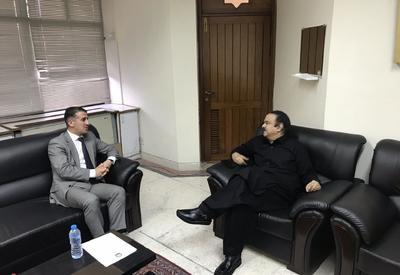 Пакистан стремится и впредь развивать связи с Азербайджаном