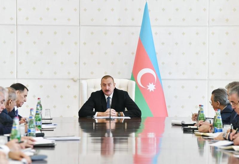 Президент Ильхам Алиев: В Азербайджане в 2018 году успешно и своевременно выполняются все поставленные задачи