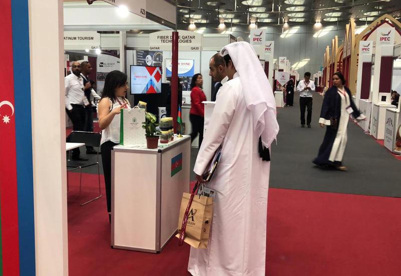 Азербайджанская продукция демонстрируется в Катаре