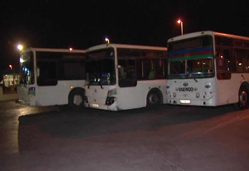 Дорожная полиция Баку предупредила водителей автобусов