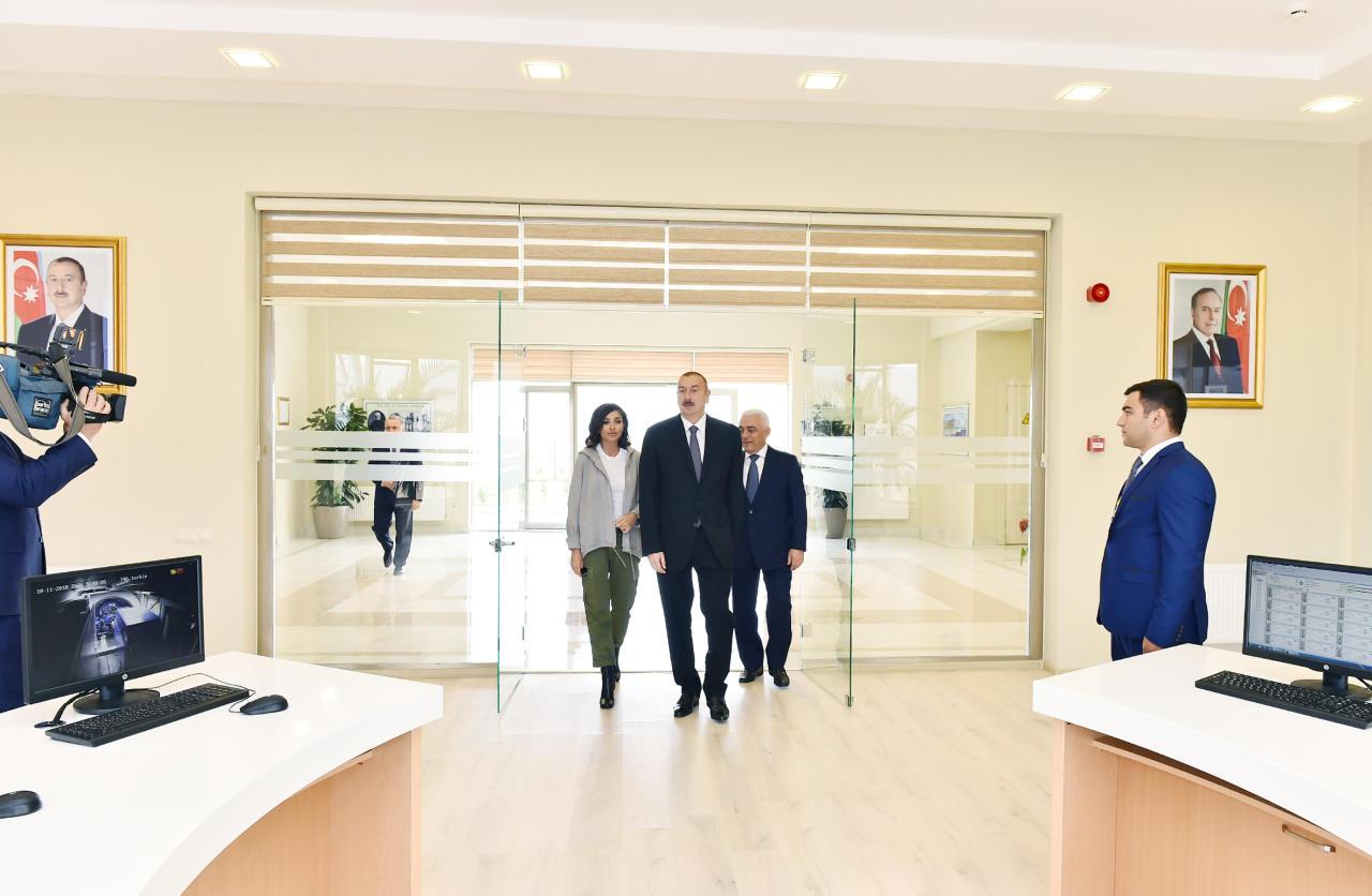Поездка Президента Ильхама Алиева и Первой леди Мехрибан Алиевой в Губинский район - ОБНОВЛЕНО - ФОТО