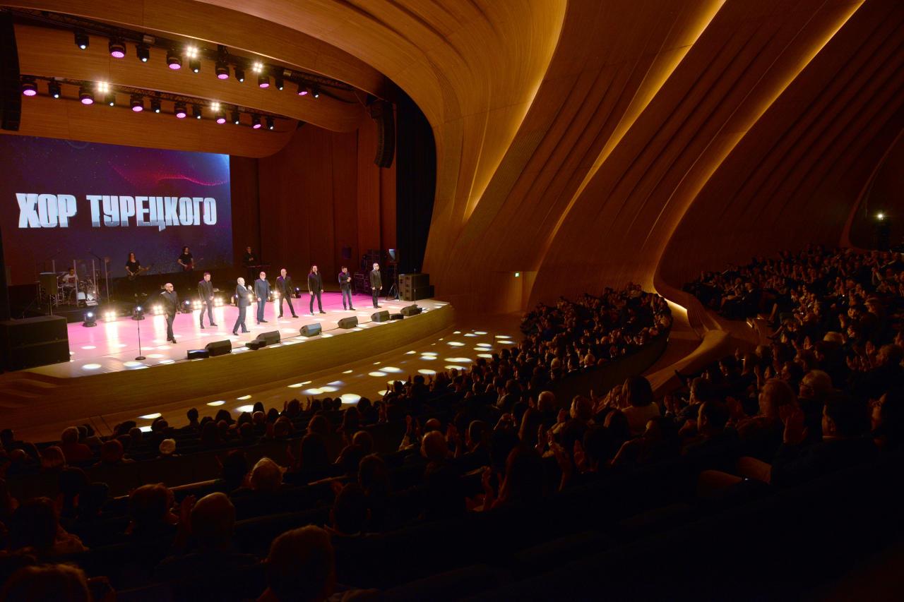 Первый вице-президент Мехрибан Алиева присутствовала на концерте «Хора Турецкого» в Центре Гейдара Алиева - ФОТО