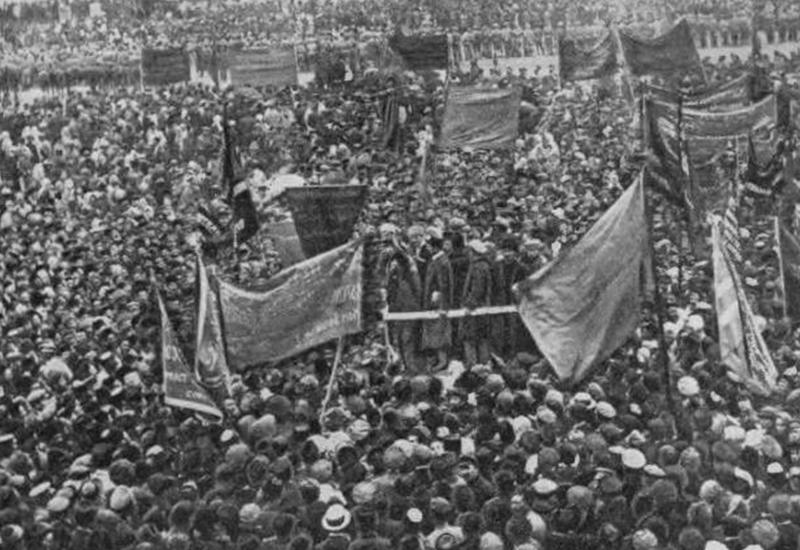 """""""Историческая призма"""": 1920 г. Армяне - главное оружие большевиков против Азербайджана"""