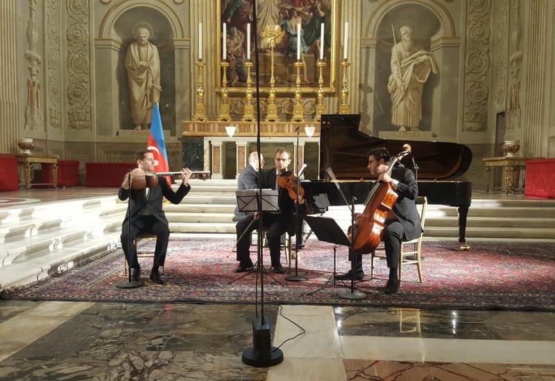 """Во дворце Президента Италии состоялся грандиозный концерт азербайджанской музыки <span class=""""color_red"""">- ФОТО - ВИДЕО</span>"""