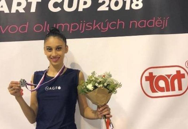 Азербайджанская гимнастка завоевала «серебро» в международном турнире