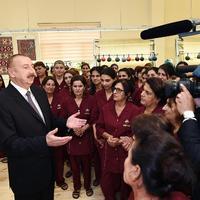 """Президент Ильхам Алиев: По линии """"Азерхалча"""" в Азербайджане в ближайшем будущем будет открыто 30 фабрик"""