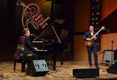 """В Центре мугама состоялся яркий концерт в рамках Международного джазового фестиваля <span class=""""color_red"""">- ФОТО</span>"""