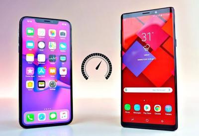 "Samsung Galaxy S10 против iPhone Xs Max <span class=""color_red"">- ВИДЕО</span>"