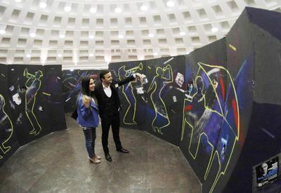 "В Баку появился лабиринт азербайджанского джаза <span class=""color_red"">- ФОТО</span>"