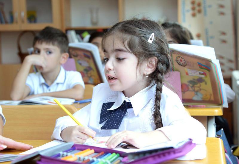 Названо число первоклассников в Баку в возрасте до 6 лет