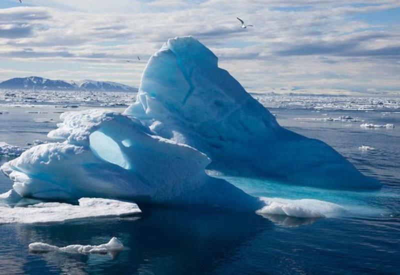 Арктический лед стал втрое тоньше