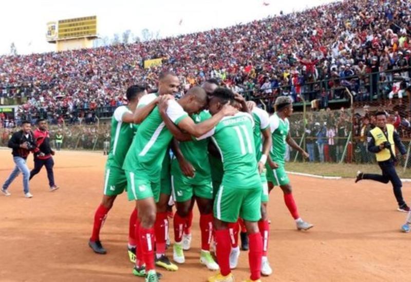 Сборная Мадагаскара впервые в истории пробилась на Кубок Африки