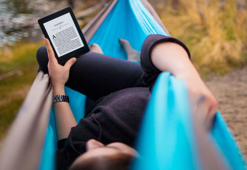 Amazon выпустила ридер, который можно читать под водой