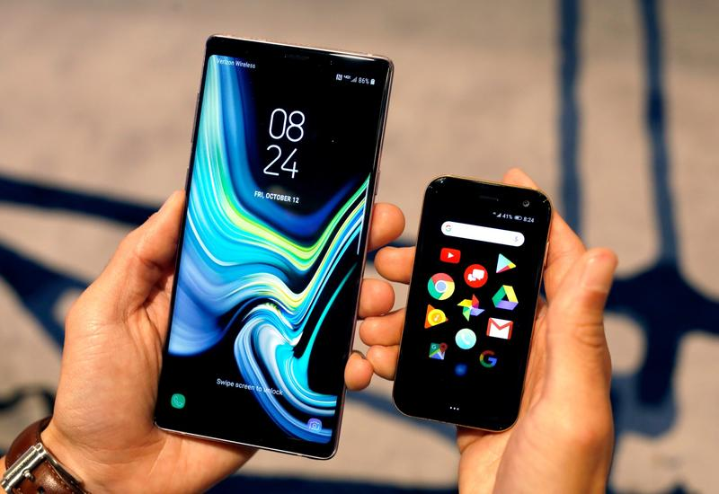 Palm решила возродить крошечные смартфоны