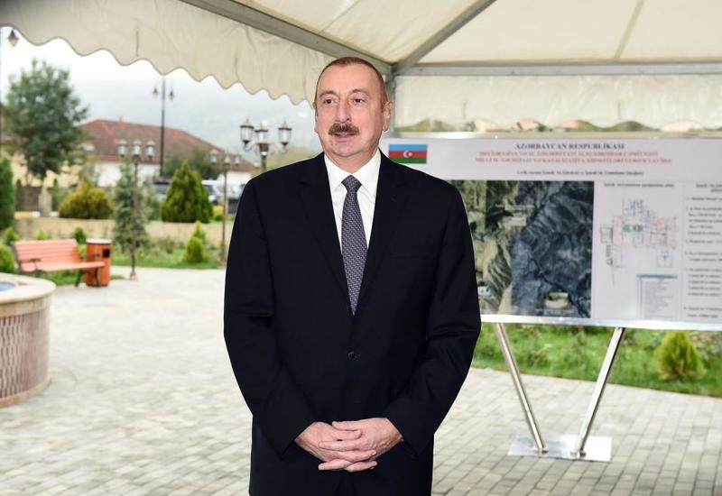Президент Ильхам Алиев: Растет международный авторитет, сила Азербайджана и правильная политика, проводимая в экономической сфере, дает плоды