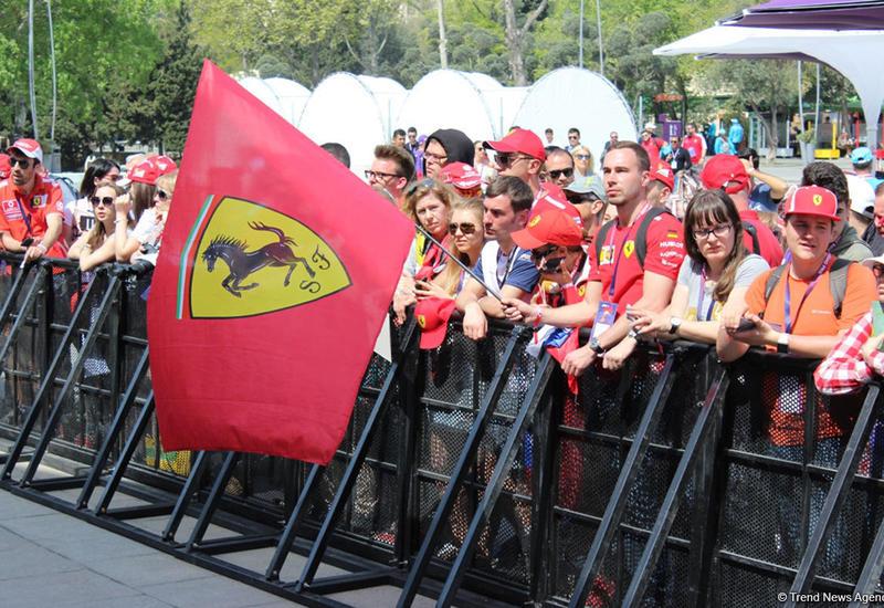 Граждане каких стран чаще всего посещают гонки Формулы-1 в Баку