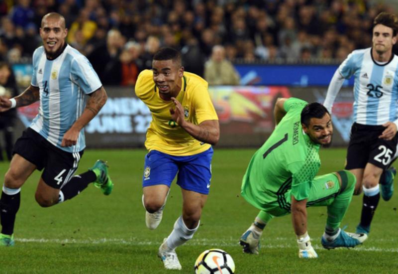 "Бразилия на последних минутах обыграла Аргентину <span class=""color_red"">- ВИДЕО</span>"