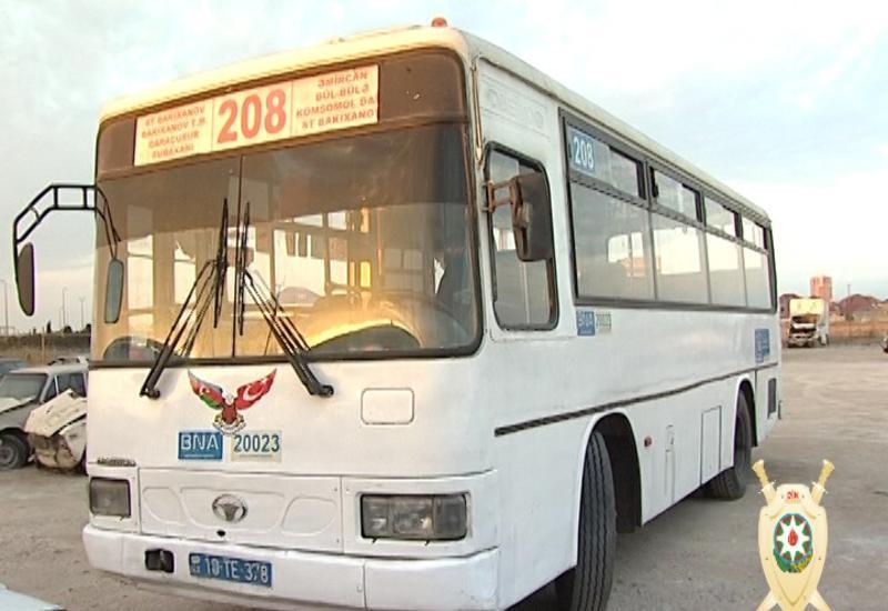 """Задержан водитель автобуса, совершивший в Баку аварию со смертельным исходом <span class=""""color_red"""">- ФОТО</span>"""
