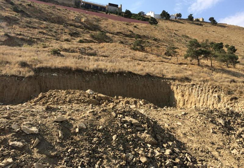 НАНА о необходимости переселить людей, проживающих в Баку в зонах оползней