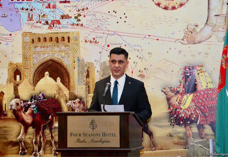 """Посол Туркменистана об укреплении взаимоотношений с Азербайджаном <span class=""""color_red"""">- ФОТО</span>"""