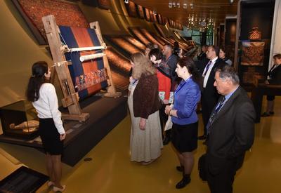 Хелена Кенигсмаркова: Азербайджанский музей ковра - музей моей мечты
