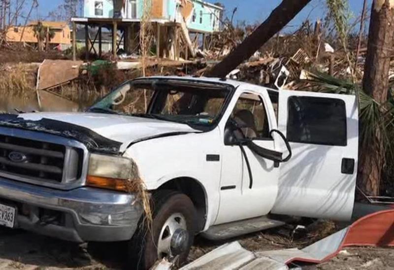 В США свирепствует мощный ураган
