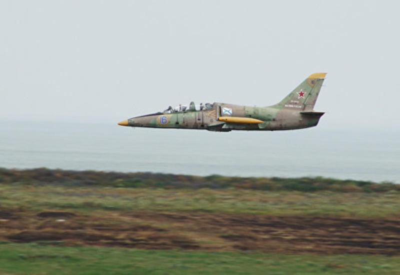 В России потерпел крушение учебный самолет Л-39