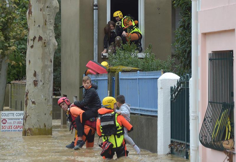 """На юге Франции ввели режим природной катастрофы из-за наводнений <span class=""""color_red"""">- ФОТО</span>"""