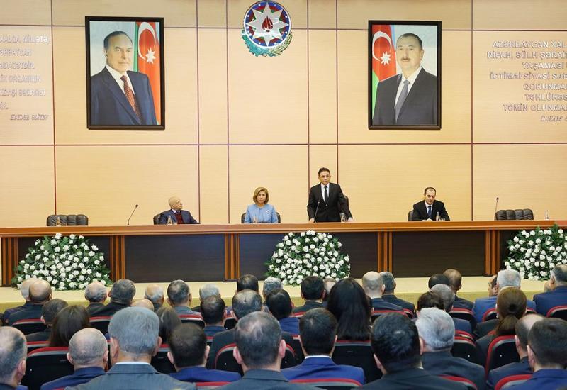 """Состоялось мероприятие на тему «За последние 15 лет независимый Азербайджан прошел путь поразительного развития и прогресса» <span class=""""color_red"""">- ФОТО</span>"""