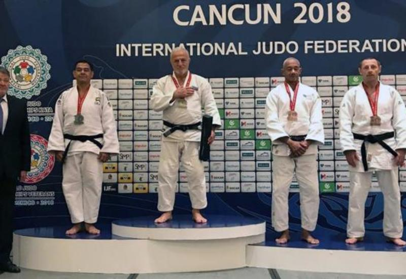 Азербайджанский ветеран дзюдо стал восьмикратным чемпионом мира
