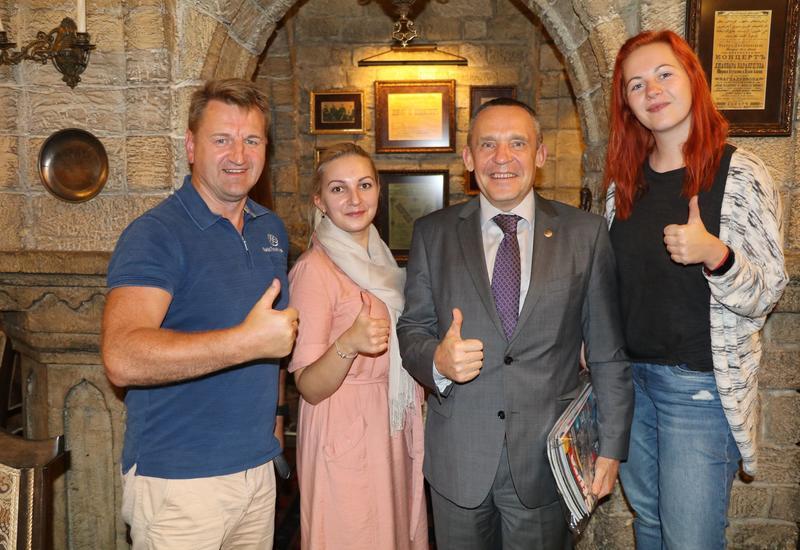 "Представители турагентств и СМИ Латвии посетили Баку <span class=""color_red"">- ФОТО</span>"