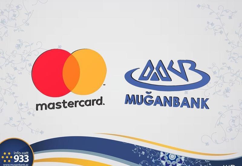 """MasterCard """"Muğanbank""""-ı mükafatlandırdı"""