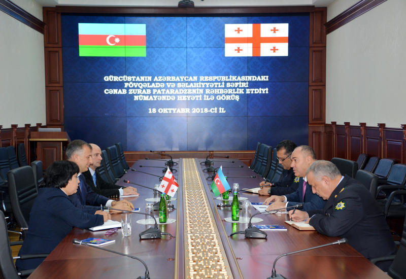 Госкомтаможня: Новый контрольно-пропускной пункт на границе Азербайджана и Грузии расширит возможности Шелкового пути