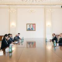 """Президент Ильхам Алиев: Сотрудничество между Азербайджаном и Италией успешно осуществляется как в двустороннем формате, так и в рамках международных организаций <span class=""""color_red"""">- ФОТО</span>"""